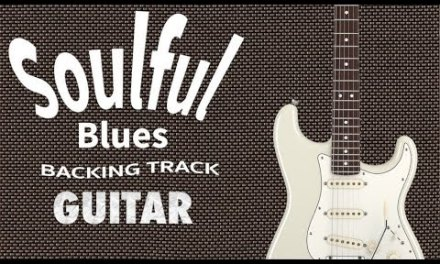 Soulful Slow Blues Guitar Backing Track in A minor