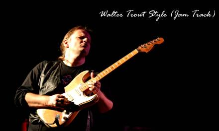 Walter Trout Style / Key: Gm (Jam Track)