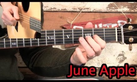 June Apple- Bluegrass Guitar Lesson!