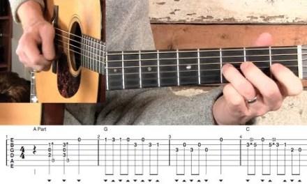 Beaumont Rag- Guitar Solo Lesson!