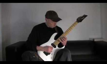 Blues Shred Sweep Picking Tapping Lesson
