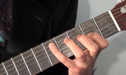 Moonlight Sonata Guitar Lesson 4 (Bars 21-25)