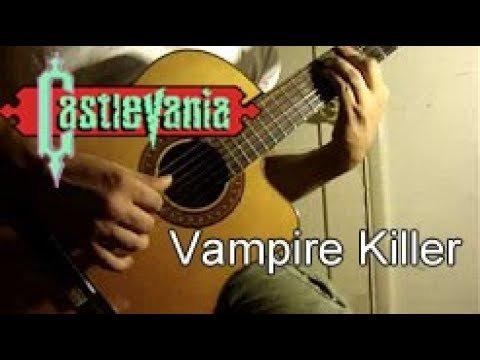 Castlevania – Vampire Killer (NES) Acoustic Guitar