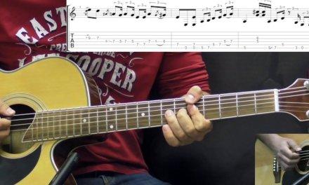 Jimi Hendrix – Hear My Train A Comin' (Acoustic) INTRO – Blues Guitar Lesson (w/Tabs)
