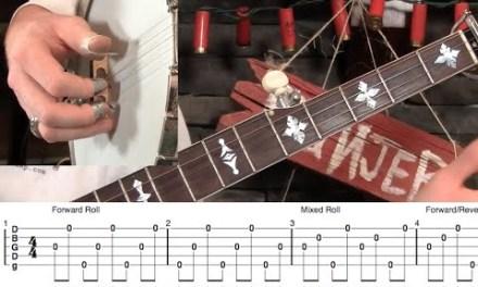 Basic Banjo Backup- Chord Walking