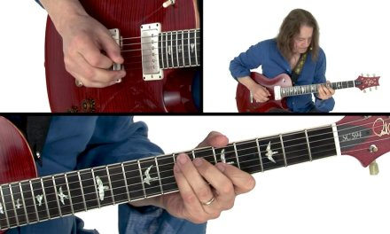 Robben Ford Guitar Lesson – Latin E Groove Performance – Solo Revolution: Diminished Lines