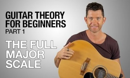 Guitar Theory for Beginners – Part 1 – The Full Major Scale