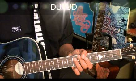 25 Or 6 To 4 Guitar Strumming Pattern Lesson #234 In Style Of Terry Kath Chicago EricBlackmonMusicHD