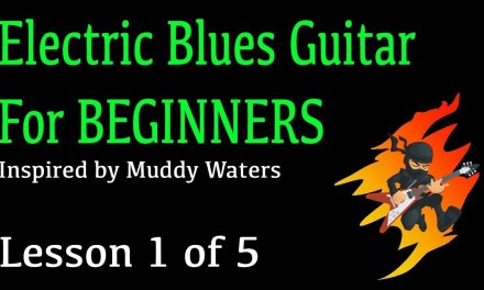 Electric Blues For Beginners (1/5) COOL RIFF!