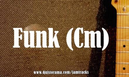 Jazz Funk Backing Track (Cm)