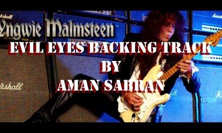 Yngwie Malmsteen – Evil Eyes Backing Track (Bass, Drums, Organ) by aman sabran