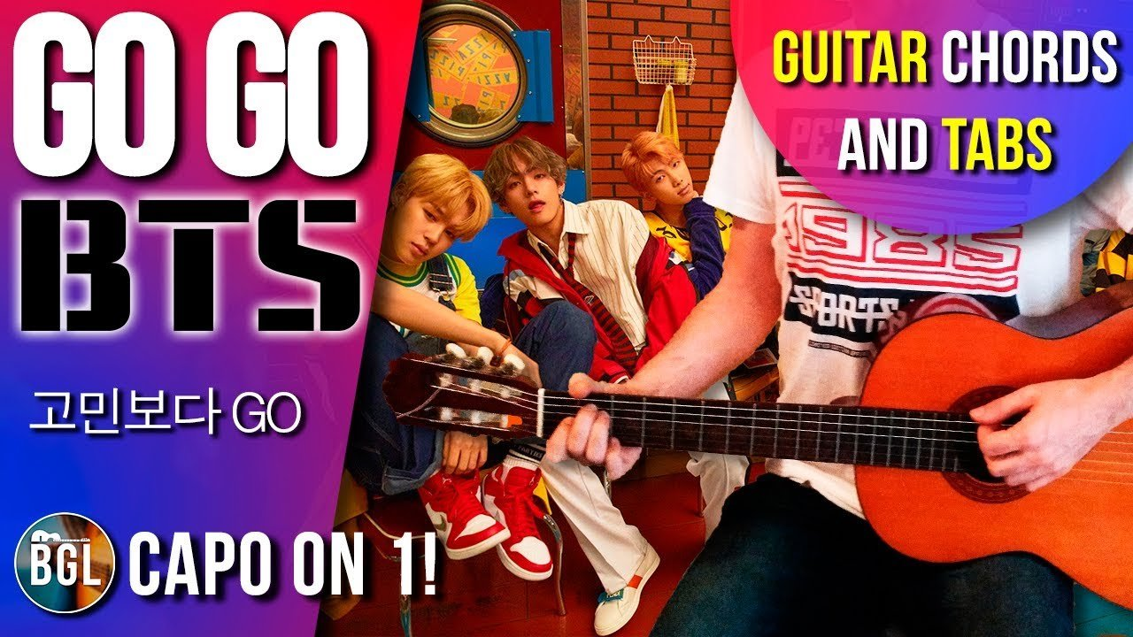 Bts Go Go Acoustic Guitar Cover Chords And Tab The Glog