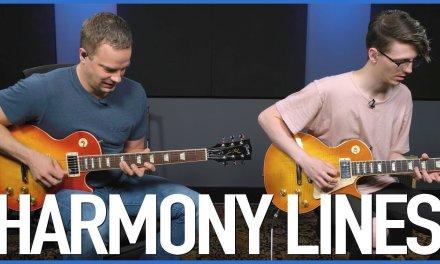GUITARMONIES! Creating Harmony Lines On Guitar – Lead Guitar Lesson