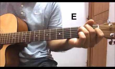learn gulabi aankhen jo teri dekhi guitar lesson old hindi song tutorial bollywood song on guitar