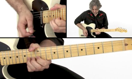 Country Soloing Guitar Lesson – Country Rock Solo Performance – Jason Loughlin