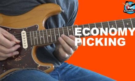 How to Master Economy Picking – Economy Picking Guitar Exercises