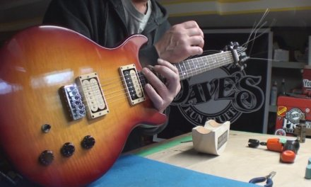 Hamer USA Guitar Setup
