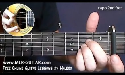 My Sweet Lord Guitar Lesson – part 1 of 5