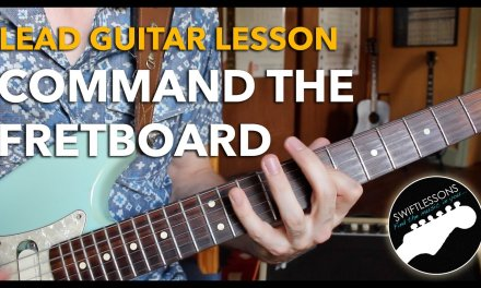 Command the Fretboard – Cascading Pentatonics in 5 Positions – Lead Guitar Lesson