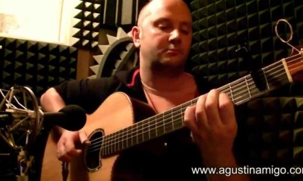"""Agustin Amigo – """"Time After Time"""" (Cyndi Lauper) – Solo Acoustic Guitar"""