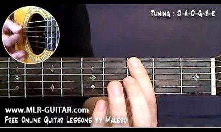 Black Hole Sun Guitar Lesson – part 1 of 5