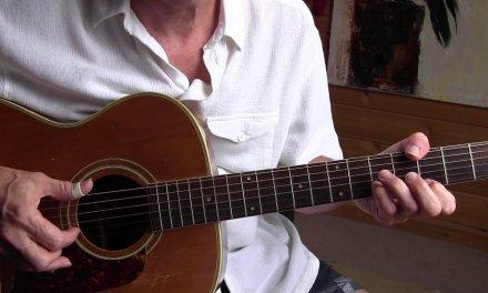 Fingerpicking guitar lesson – Romantic Rag/Steve Waring – free TAB