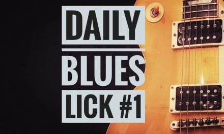 Andy's Lab – Daily Blues Licks #1 – Guitar Lesson