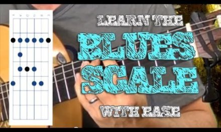 Blues Scale Guitar – Learn To Play – Fun – Easy!