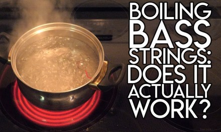 Boiling Bass Strings:  Does it actually WORK?
