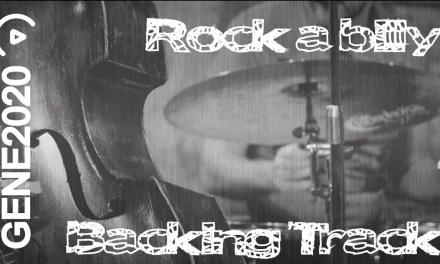 Rock a Billy – Guitar Backing Track – E