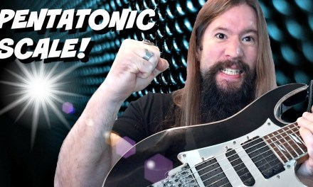 How To Play The Pentatonic Scale On Guitar! Epic Tutorial!!