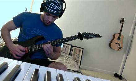 Joe Satriani – Surfing with the Alien cover – Rio Elo