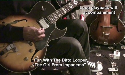 THE GIRL FROM IPANEMA 1964 Ditto Looper Guitar Cover + Lessons Link In The Description