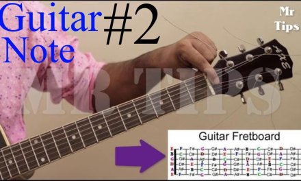 Guitar Lesson for Beginner #2 in 1 Week | What is Guitar Note?Guitar for Beginners A-Z Mr Tips