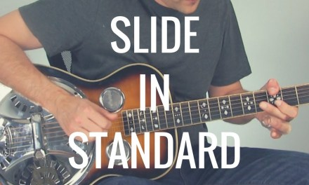 Slide Guitar in Standard Tuning | Tuesday Blues #174