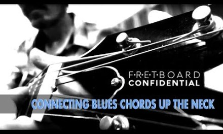 Connecting Blues Chords Up the Neck
