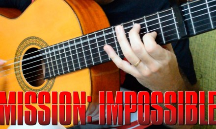 Mission Impossible Theme – Fingerstyle Guitar (Marcos Kaiser) #95