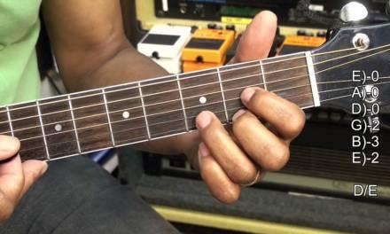 How To Play Make Me Wanna Thomas Rhett Style Guitar Chords Lesson #309  Tutorial