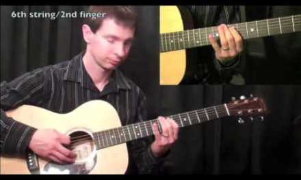 How To Play Guitar – Blues Guitar Lesson – Major Scales
