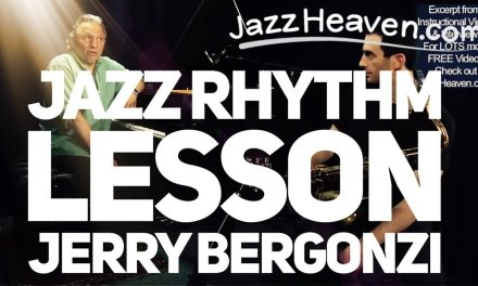 *JAZZ RHYTHM Lesson* MASTER Jerry Bergonzi: Great Exercise Improve Your Jazz Rhythm Lesson
