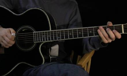 Meet Virginia Guitar Lesson – Part 2: the Picking Groove – the Synthetic Strumming Guitar Series