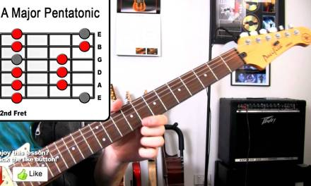 A Major Pentatonic – Guitar Scale Lesson – Great For Blues, Rock, Pop, Reggae, Ballads Lead Soloing