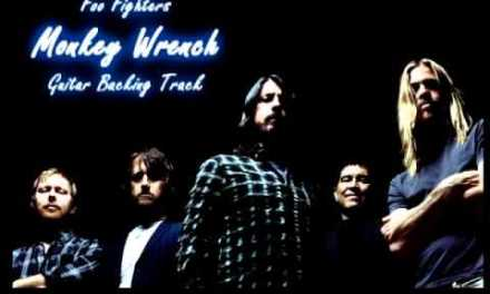 Foo Fighters – Monkey Wrench (Backing Track)