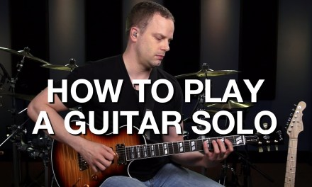 How To Play A Guitar Solo – Lead Guitar Lesson #9