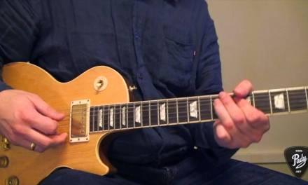 Einfache Blues Gitarren-Licks (Solo Licks 1)