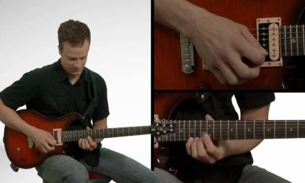 Pentatonic Scale Sequencing in Six's – Guitar Lessons