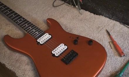 setup on charvel san dimas guitar