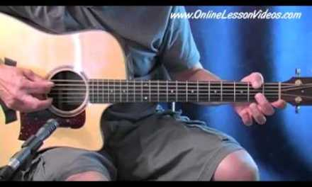 Bluegrass Guitar Lessons – Solo #1