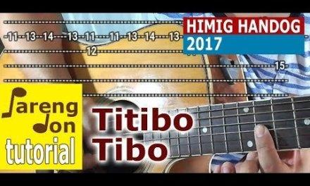 Titibo Tibo intro tab and riffs/lead guitar tutorial