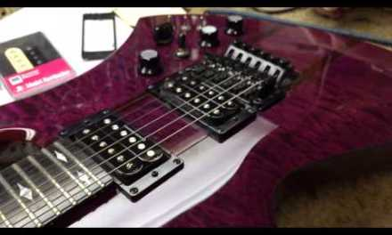 BC Rich Mockingbird ST (Complete Overhaul @ Pace Guitar Repair)